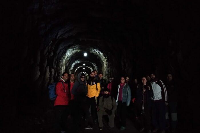 """Minas del Horcajo """"El túnel del tiempo"""""""